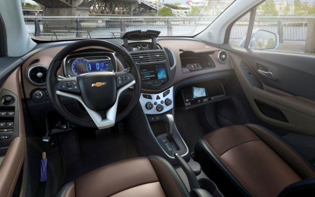 Chevrolet Trax interni