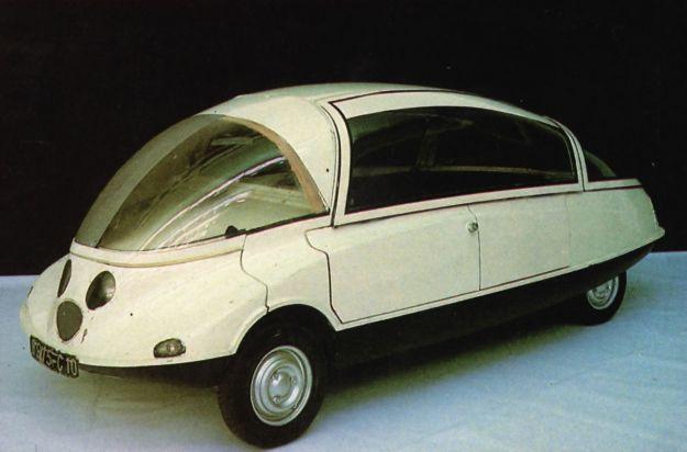 Citroen C10 concept car Coccinelle
