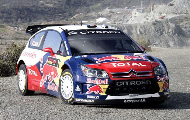 Citroen C4 WRC Rally 2007