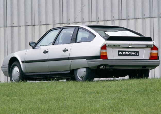 Citroen CX 22 RD Turbo 2 posteriore