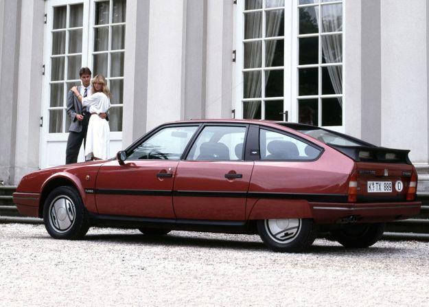 Citroen CX 25 GTI Turbo rossa