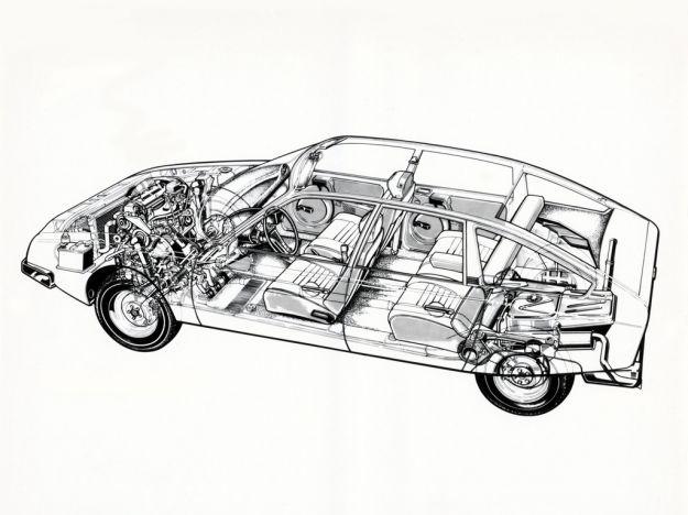 Citroen CX meccanica