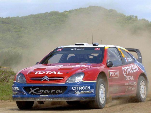 Citroen Xsara WRC Rally