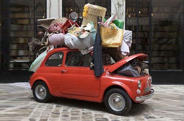 Come caricare i bagagli sull'auto