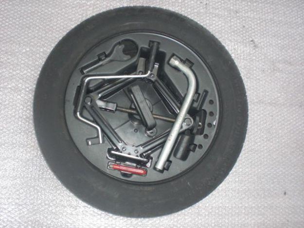 Come montare la ruota di scorta