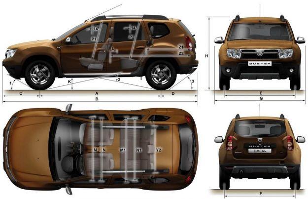 Dacia Duster 2014 dimensioni_01