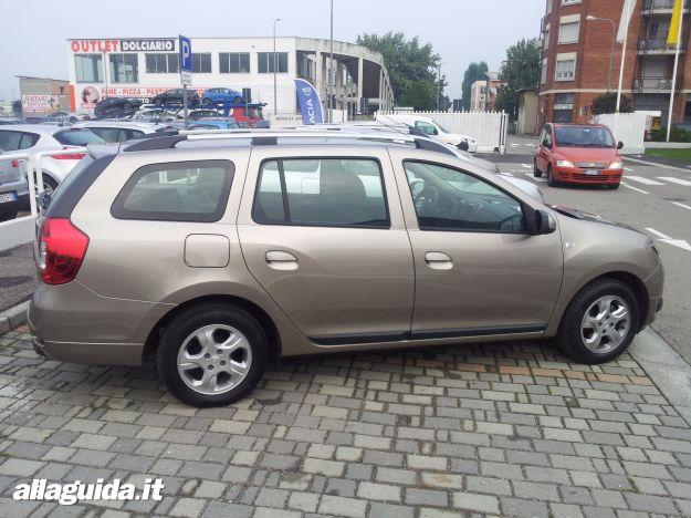 Dacia Logan MCV 2014, dimensioni