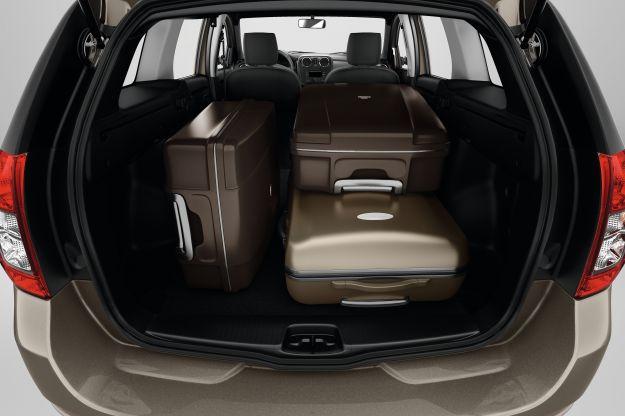 Dacia Logan MCV, bagagliaio
