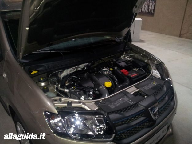 Dacia Logan MCV, motori