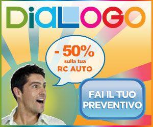 Dialogo assicurazioni logo promozione