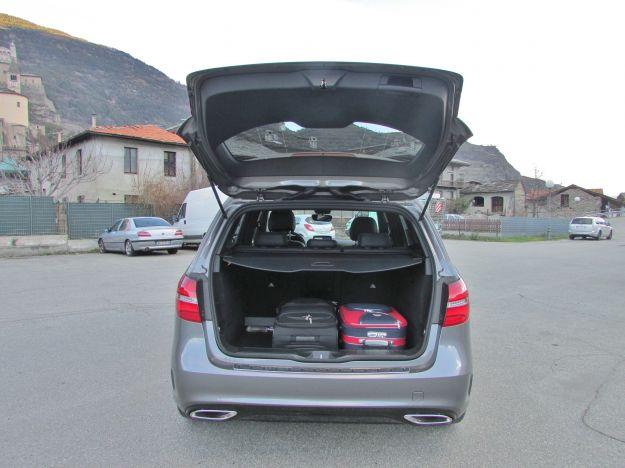 Dimensioni Mercedes Classe B