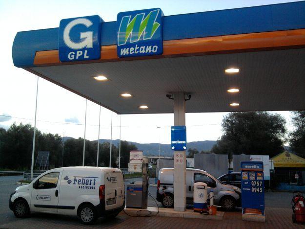 Distributore gpl metano