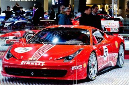 Ferrari 458 Italia Challenge Motor Show Bologna 3