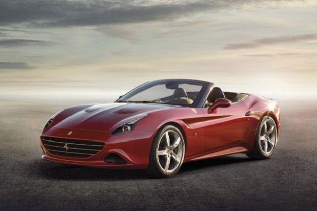 Ferrari California estetica e design