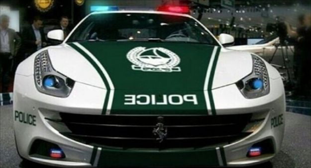 Ferrari FF Polizia Dubai