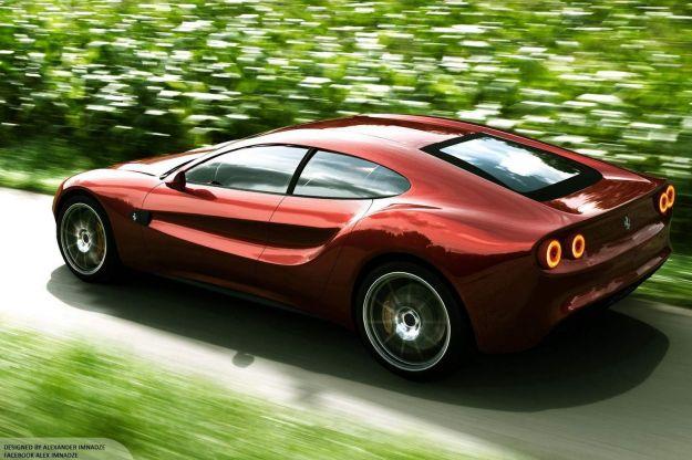 Ferrari Quattroporte Design Concept by Alex Imnadze 9