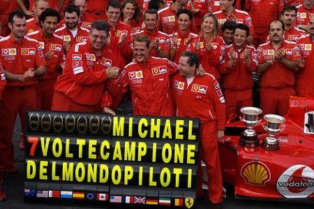 Ferrari schumacher 2004