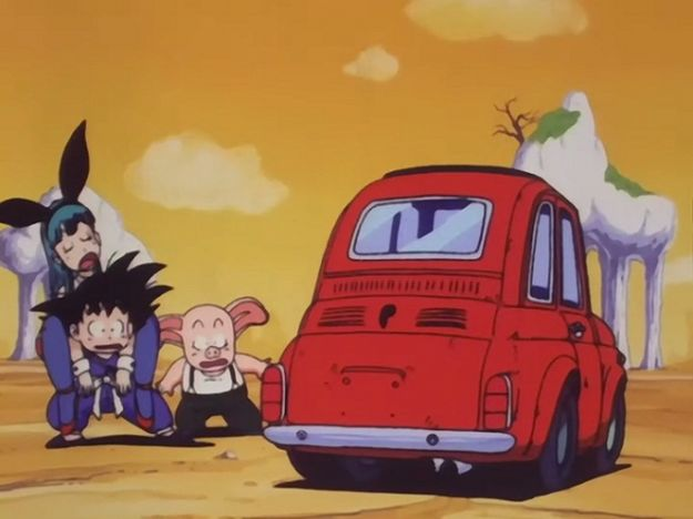 Fiat 500 Dragon Ball