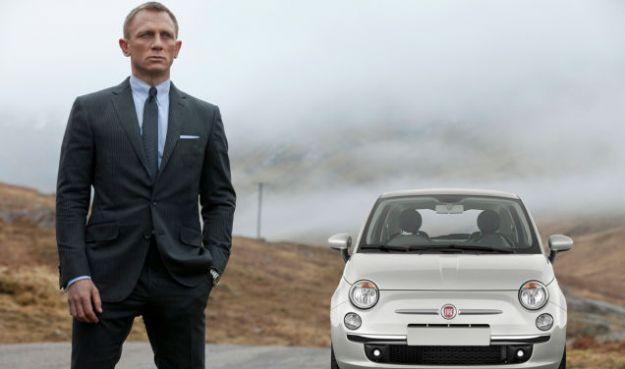 Fiat 500 film Spectre 007