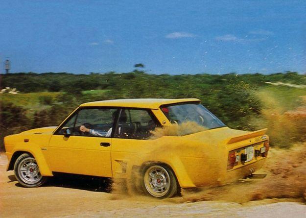 Fiat Abarth 131 Rally 1976