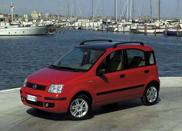 Fiat Panda 2003, tre quarti anteriore