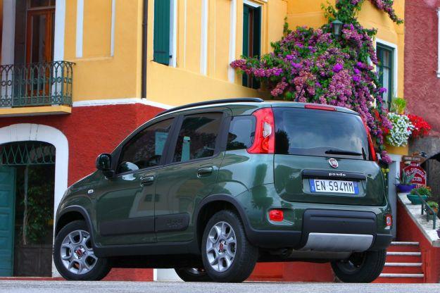Fiat Panda 4x4 coda