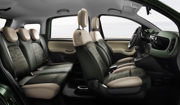 Fiat Panda 4x4 interni