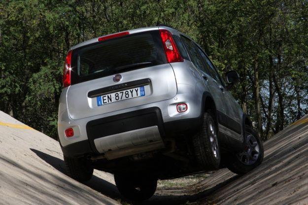 Fiat Panda 4x4 prova twist