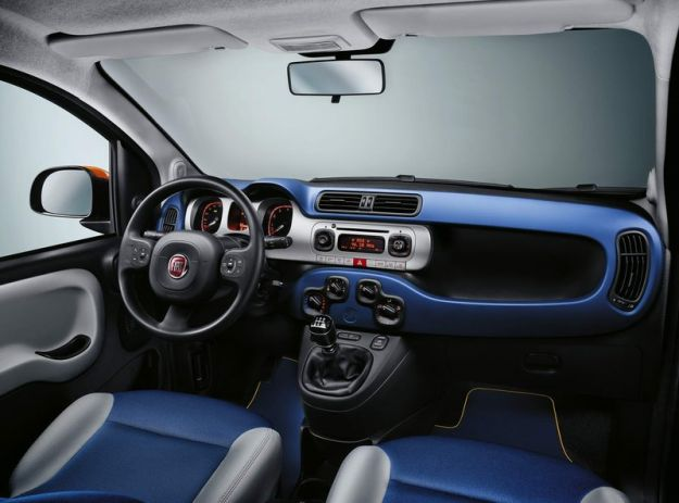 Fiat Panda K Way interni