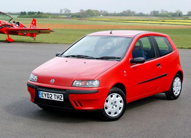 Fiat Punto 1999, frontale