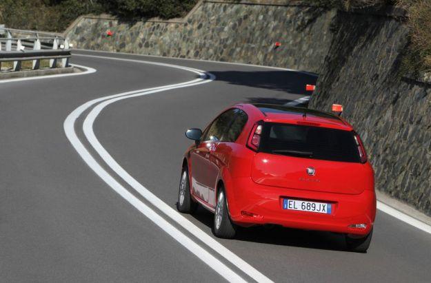 Fiat Punto 2012 dietro