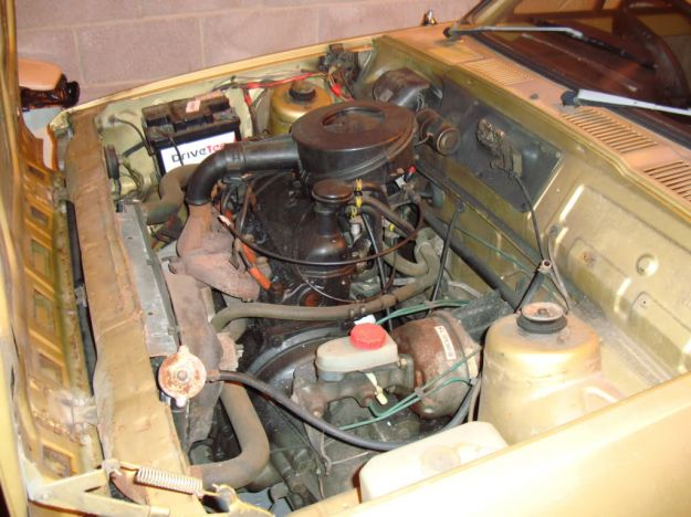 Ford Fiesta 1976 gl motore