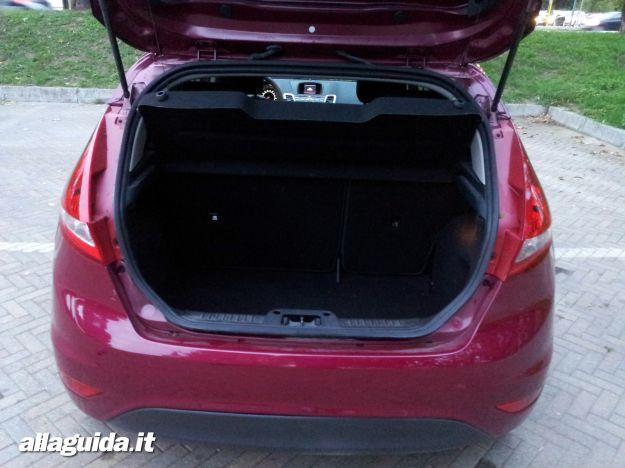 Ford Fiesta, bagagliaio