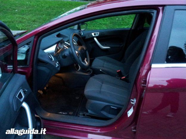 Ford Fiesta, interni