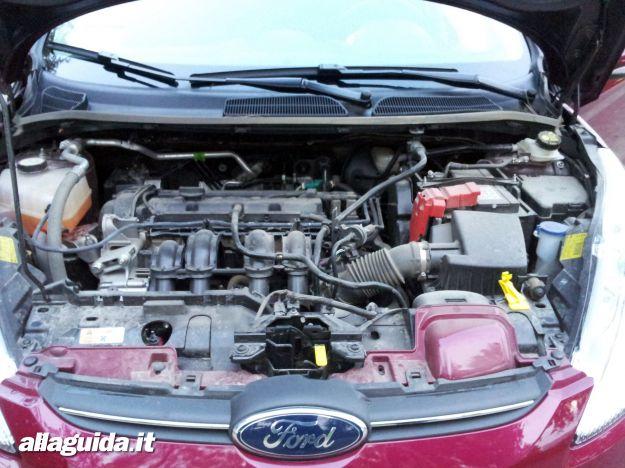 Ford Fiesta, motore