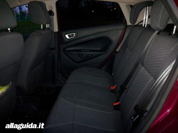 Ford Fiesta, sedili