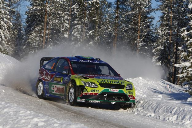 Ford Focus RS WRC 2010 Rally