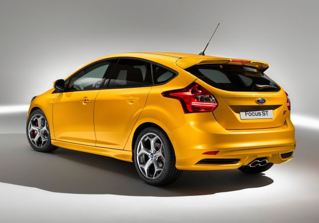 Ford Focus ST 2012 posteriore