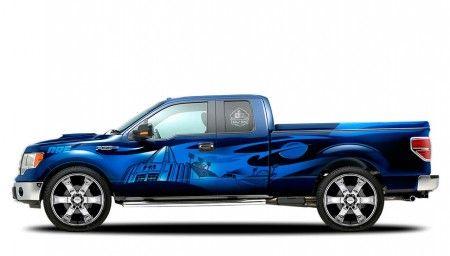 Ford sema pick up fiancata