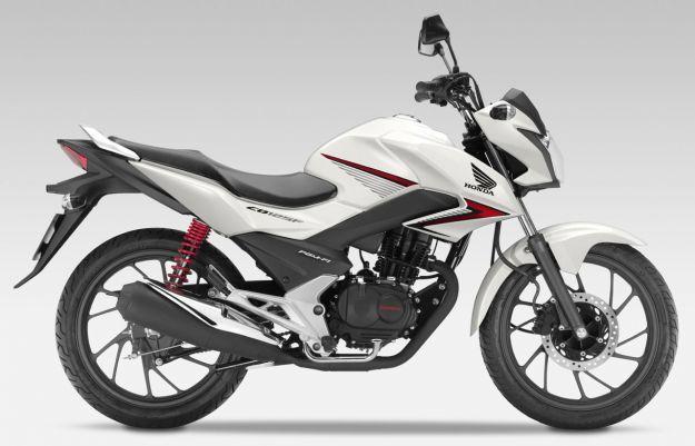 Honda CB125F Pearl Sunbeam White