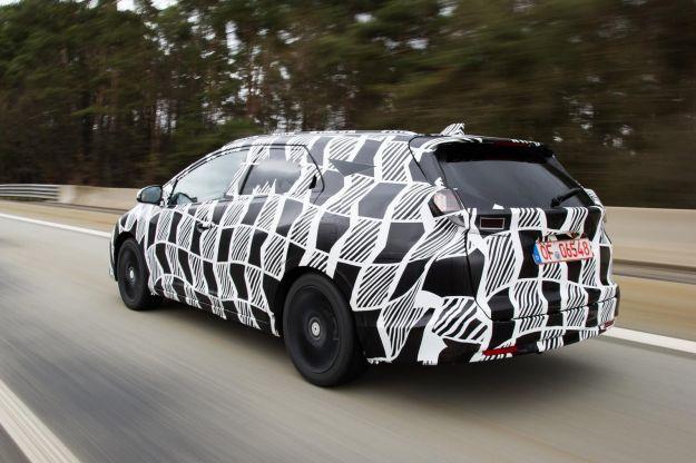 Honda Civic Tourer, foto spia posteriore
