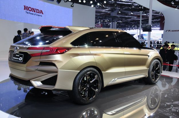 Honda Concept D coda