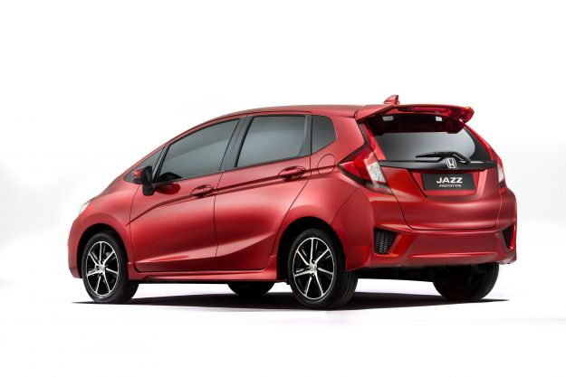 Honda Jazz 2015, posteriore