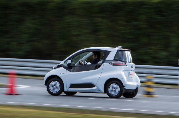 Honda Micro Commuter Concept, fiancata