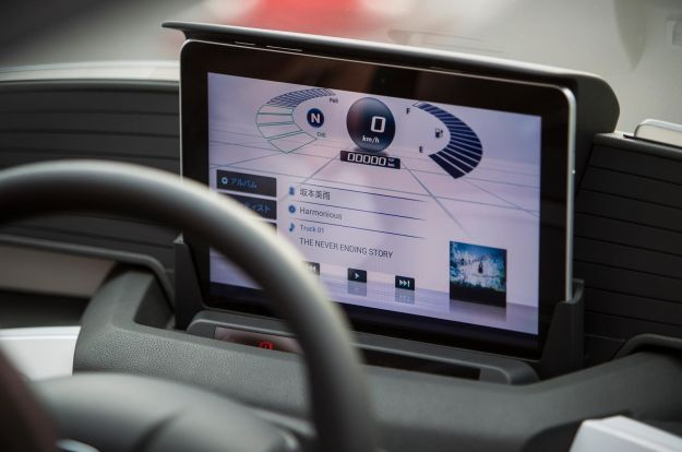 Honda Micro Commuter Concept, strumentazione