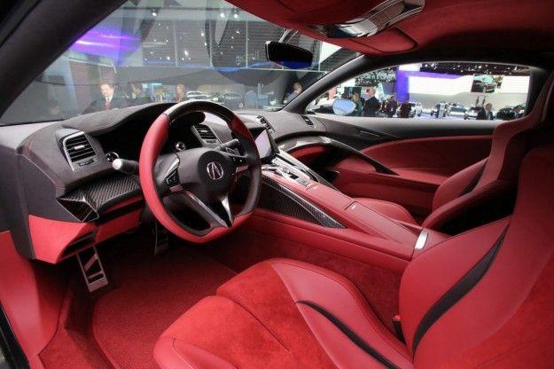 Honda NSX 2015 interni