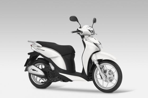 Honda Sh mode 125 bianco