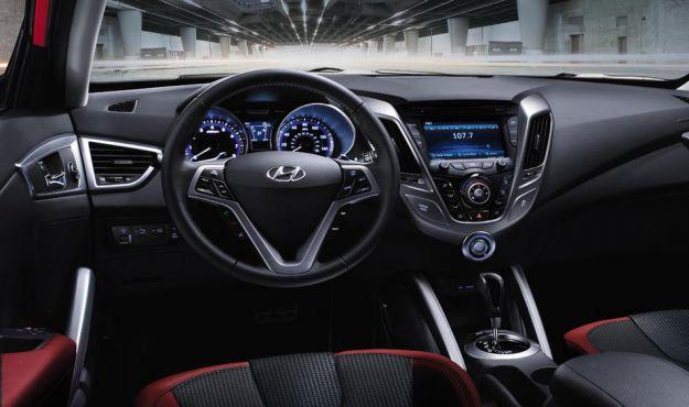 Hyundai Veloster Strumentazione