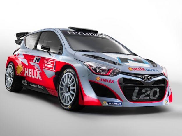 Hyundai i20 WRC 2014 Rally Championship