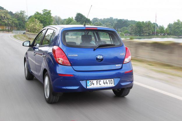 Hyundai i20 gpl posteriore